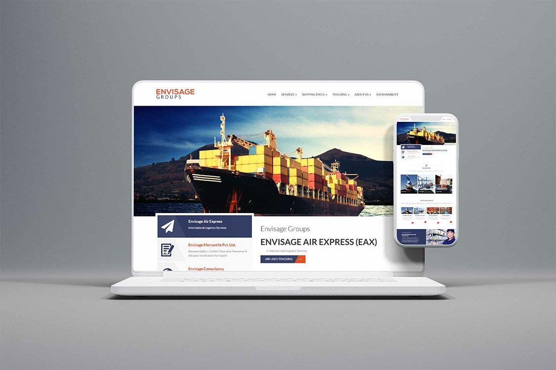 Envisage Website