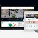sanitize your place website mockup