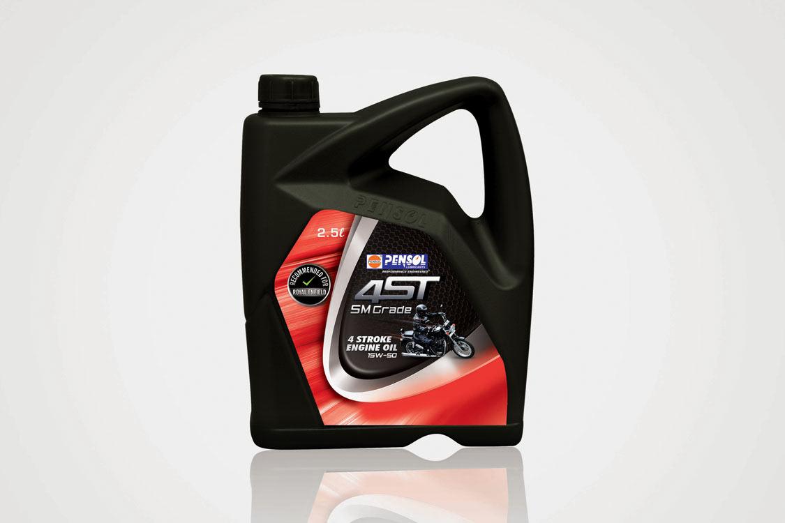 Pensol Engine Oil Package Design