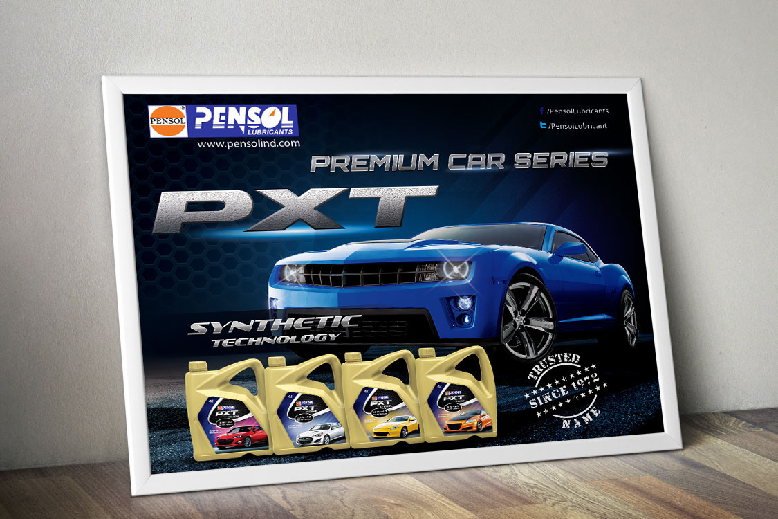 Pensol Lubricant Poster
