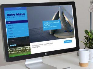 Ruby Mica Website
